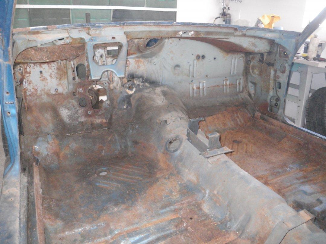 Interior Stripped Front.JPG